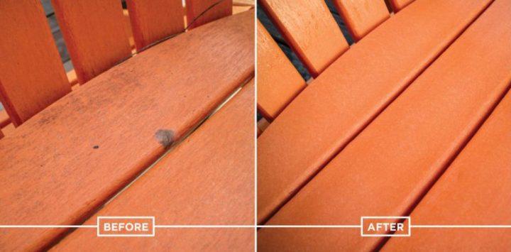 Frühjahrsputz schnell und einfach: Reinigung der Polywood Outdoor Möbel