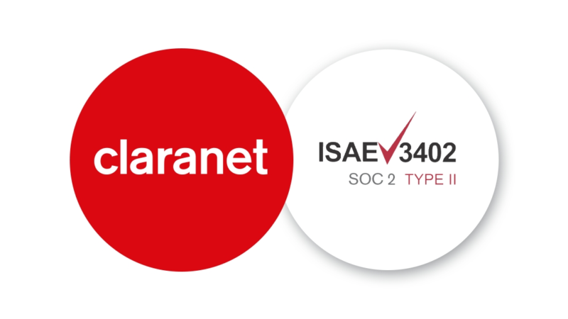 SOC 2 TYP II Bericht für Claranet