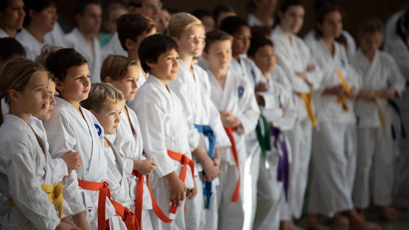 Karate wird immer beliebter
