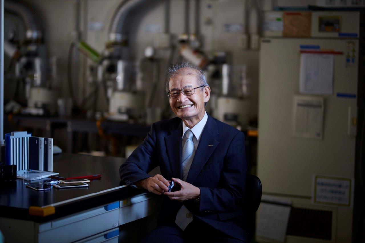 Asahi Kasei Honorary Fellow Dr. Akira Yoshino Nominated as a Finalist for the European Inventor Award 2019