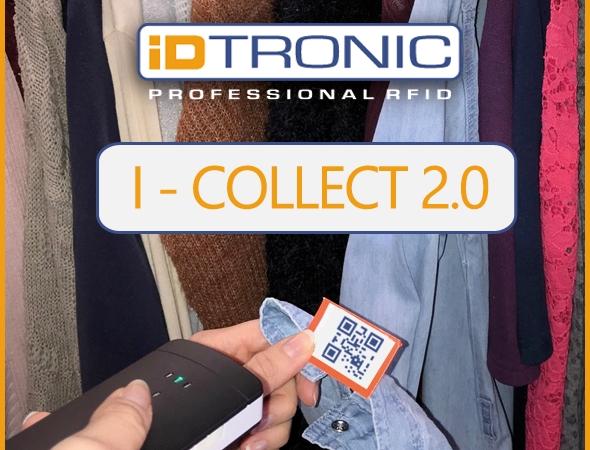 iDTRONICs RFID HANDHELD I-COLLECT 2.0