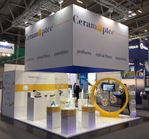 Laser World of Photonics 2019: CeramOptec will present high-performance fiber optics for industrial and medical laser applications