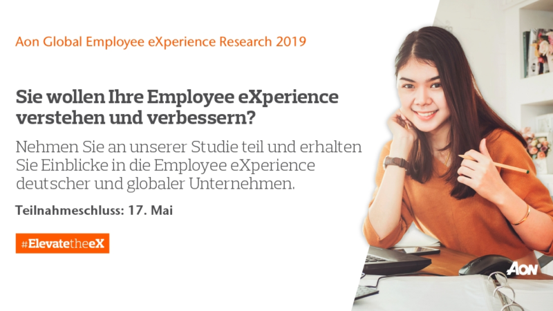 Aon Global Employee eXperience Studie 2019