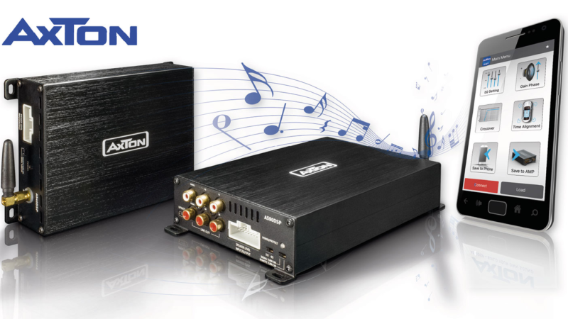 Sound Upgrade for Factory Systems – AXTON DSP Amplifiers