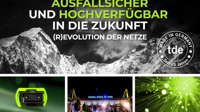 Hattrick: (R)evolution der Netze-Roadshow gastiert zum dritten Mal in der BVB-Arena