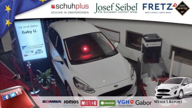 Übergrößen-Schuhspezialist schuhplus verlost Ford Fiesta – präsentiert von Weser Report