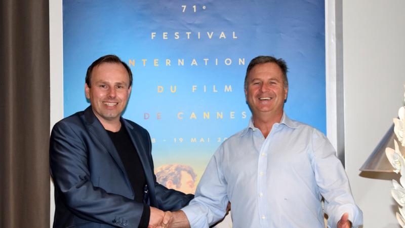 Kunst und Film während des Cannes Film Festival