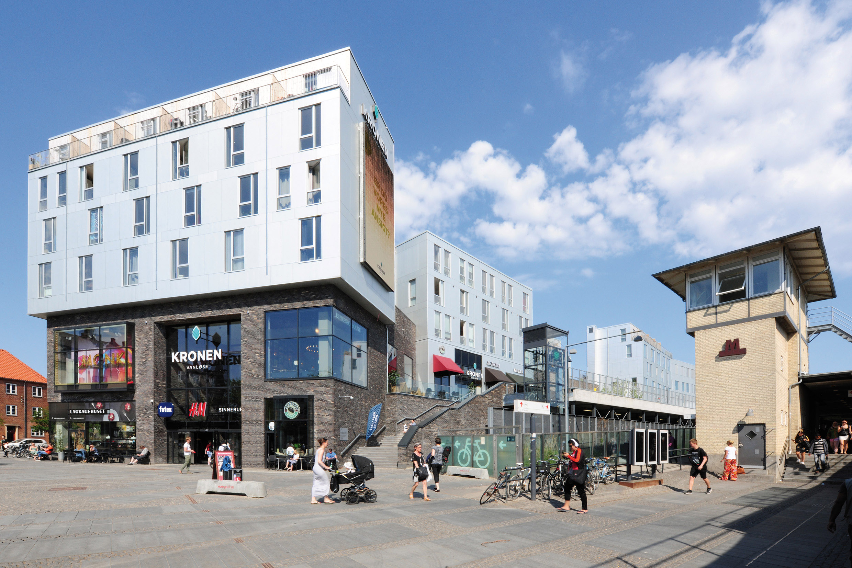 Leben über den Dächern Kopenhagens
