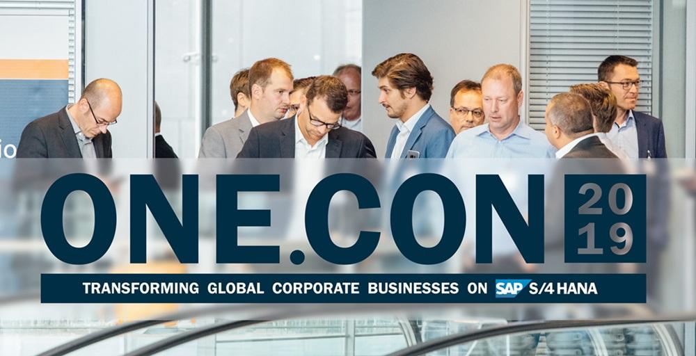 ONE.CON 2019: SAP Industry Community zeigt wegweisende S/4HANA-Pionierprojekte