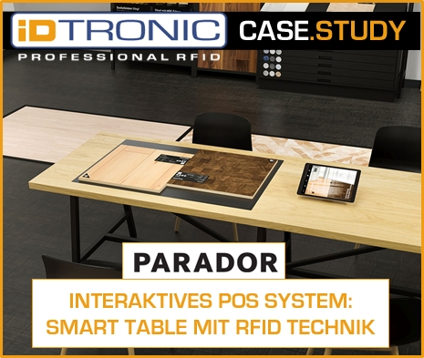 Case Study: INTERAKTIVES POS SYSTEM – SMART TABLE MIT RFID TECHNIK