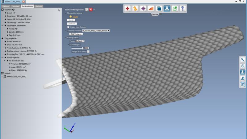 Software mit Texturen-Modul revolutioniert Bauteil-Design