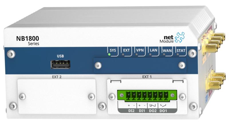 NetModule NB1800 – der sichere Industrial Router