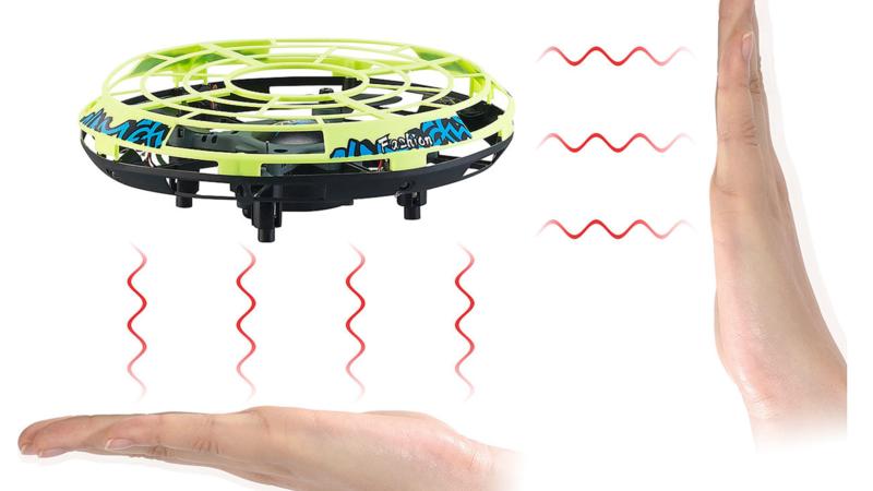 Simulus Selbstfliegendes Quadrocopter-Ufo mit IR-Sensoren