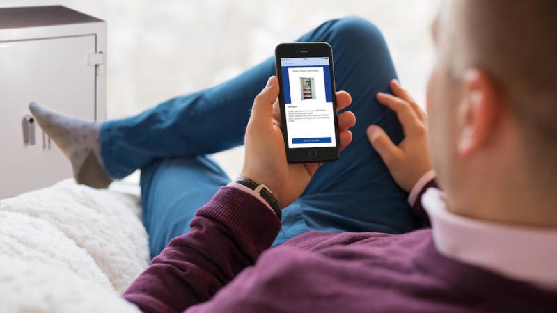Tresor goes mobile: Mit der SafeAgent-App die Inhalte im Tresor verwalten