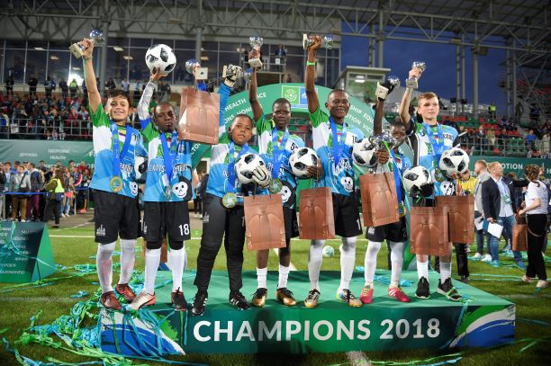 Football for Friendship 2019: official attempt to obtain GUINNESS WORLD RECORDS® title