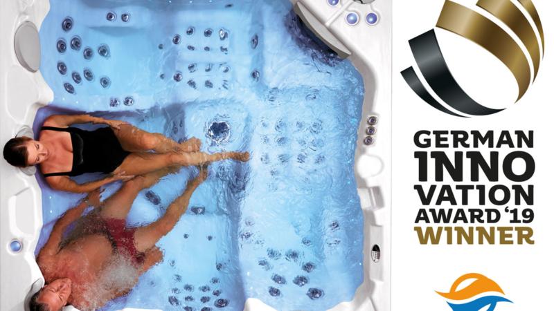 Whirlcare gewinnt mit Smart Spa German Innovation Award