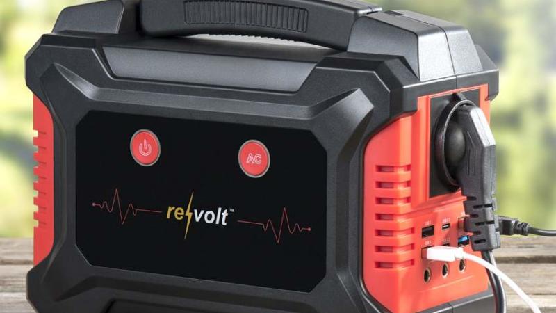 revolt Solar-Konverter & Powerbank HSG-600, 60 Ah, 222 Wh