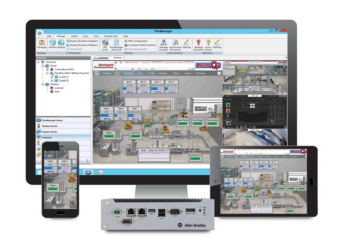 Thin Client-Managementsoftware von Rockwell Automation für globalen Einsatz erweitert