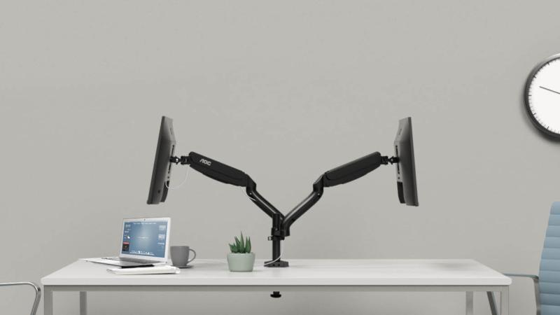 Für jeden modernen Arbeitsplatz bestens geeignet – die professionellen Displaylösungen von AOC