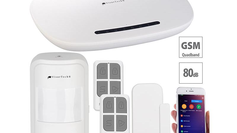 VisorTech GSM-Alarmanlage XMD-4200