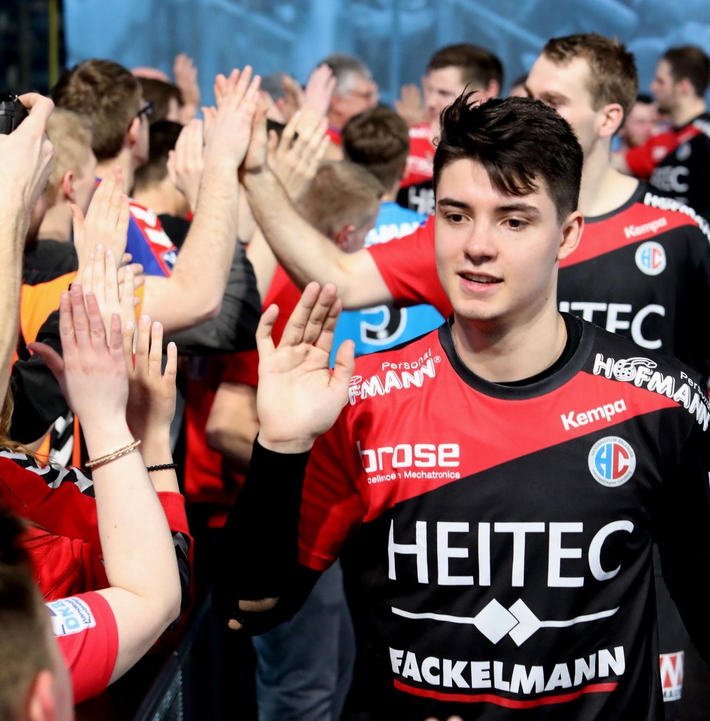 Handball: HC Erlangen siegt in Stuttgart und feiert Rekordergebnis
