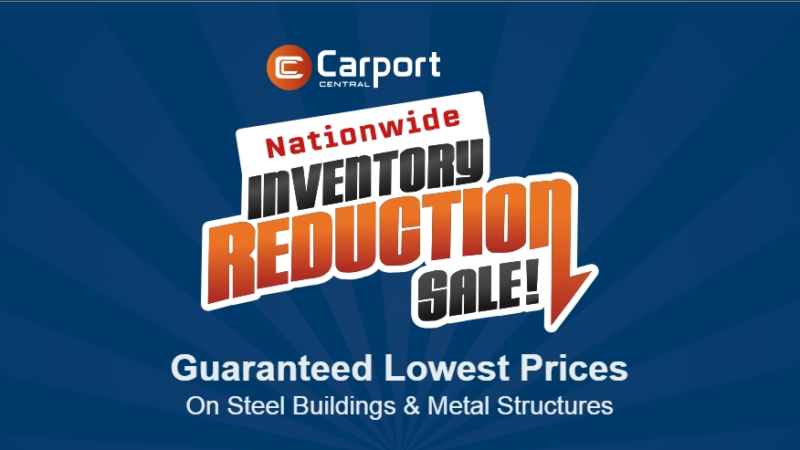 Carport Central Launches Metal Building Sale