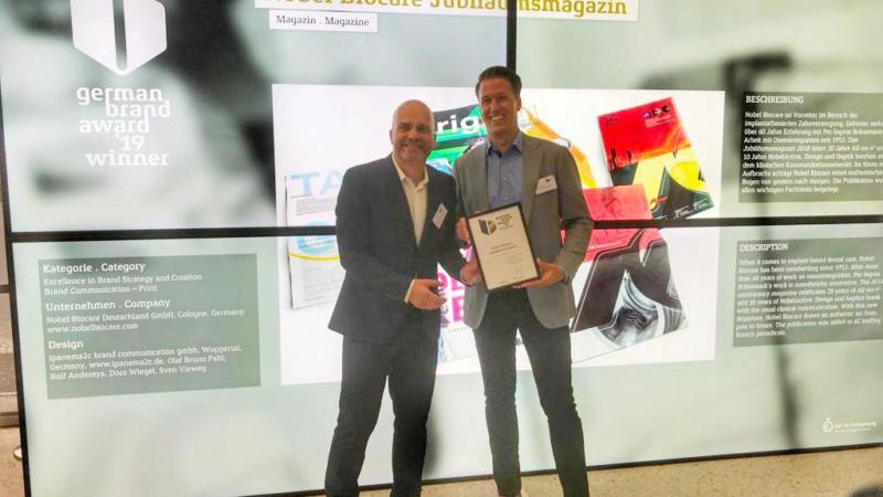 ipanema2c erneut beim German Brand Award erfolgreich.