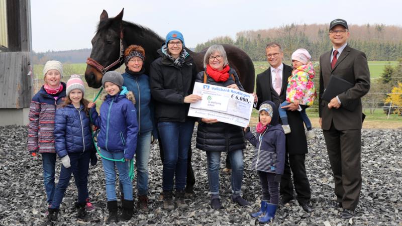Selbstbewusster Umgang von Kindern mit Hilfe der Pferde