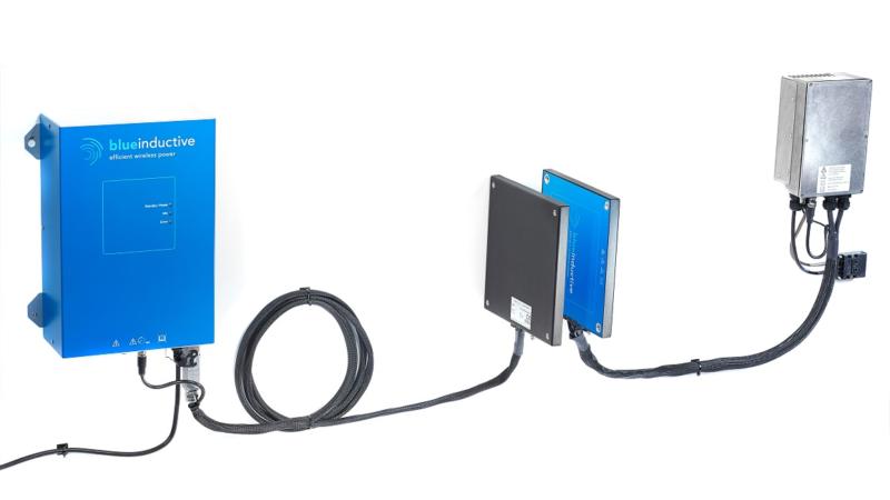Blue Inductive: kontaktloses Schnellladesystem in Serienproduktion