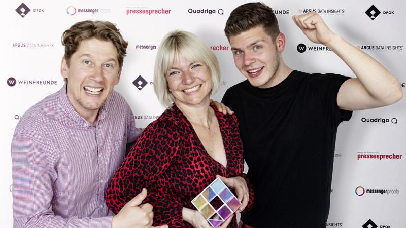 Wegner & Partner gewinnt DPOK-Award in Gold