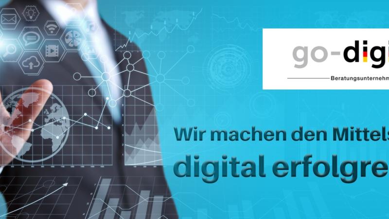 go-digital – Neue Fördermöglichkeiten für KMU und Handwerk
