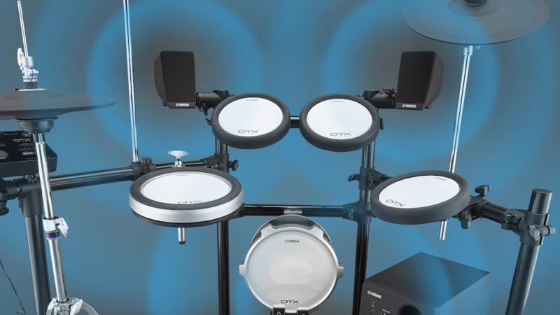 Yamaha MS45DR bringt akustischen Schlagzeug-Sound mit regelbarer Lautstärke für E-Drums