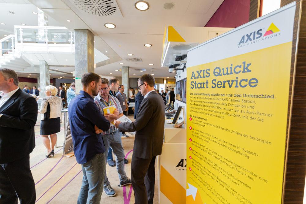 Axis Communications begeistert über 1.000 Teilnehmer auf der diesjährigen Roadshow