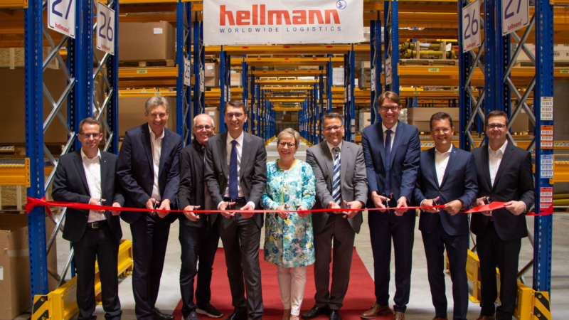 Hellmann Worldwide Logistics eröffnet neues Warehouse in Kerpen