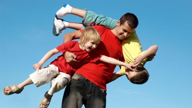 Bewegung entspannt den Familienalltag
