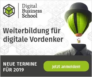 Mit den Zertifizierungskursen der Digital Business School Digitalkompetenzen aufbauen und vertiefen