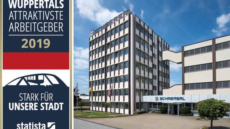 """Schmersal gehört zu """"Wuppertals attraktivsten Arbeitgebern"""""""