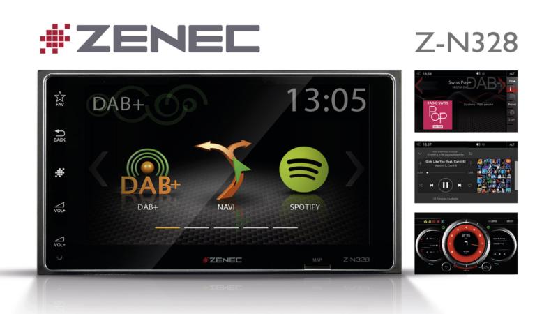 Konsequent modern – ZENECs 2-DIN Infotainer Z-N328