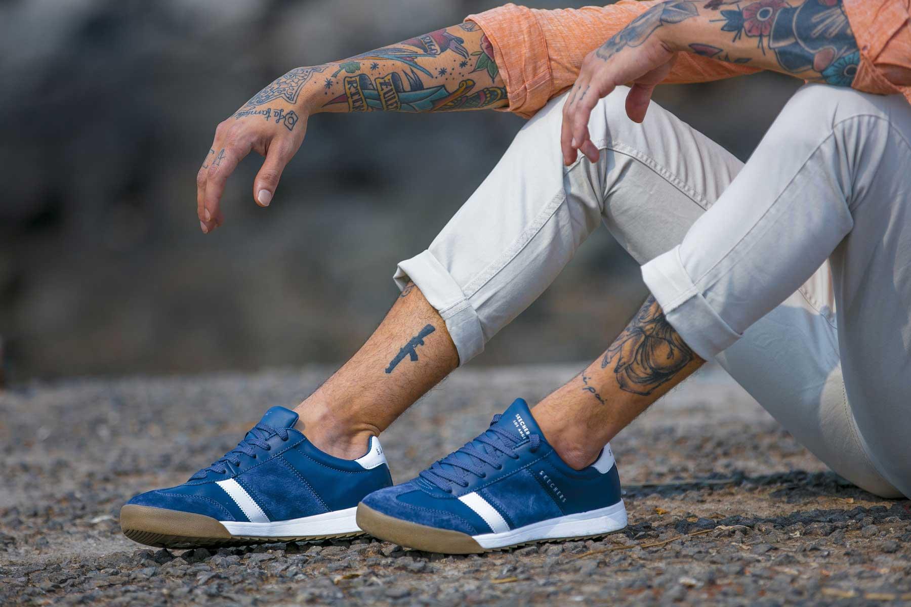 Originelle Schuhe von Skechers bei schuhplus