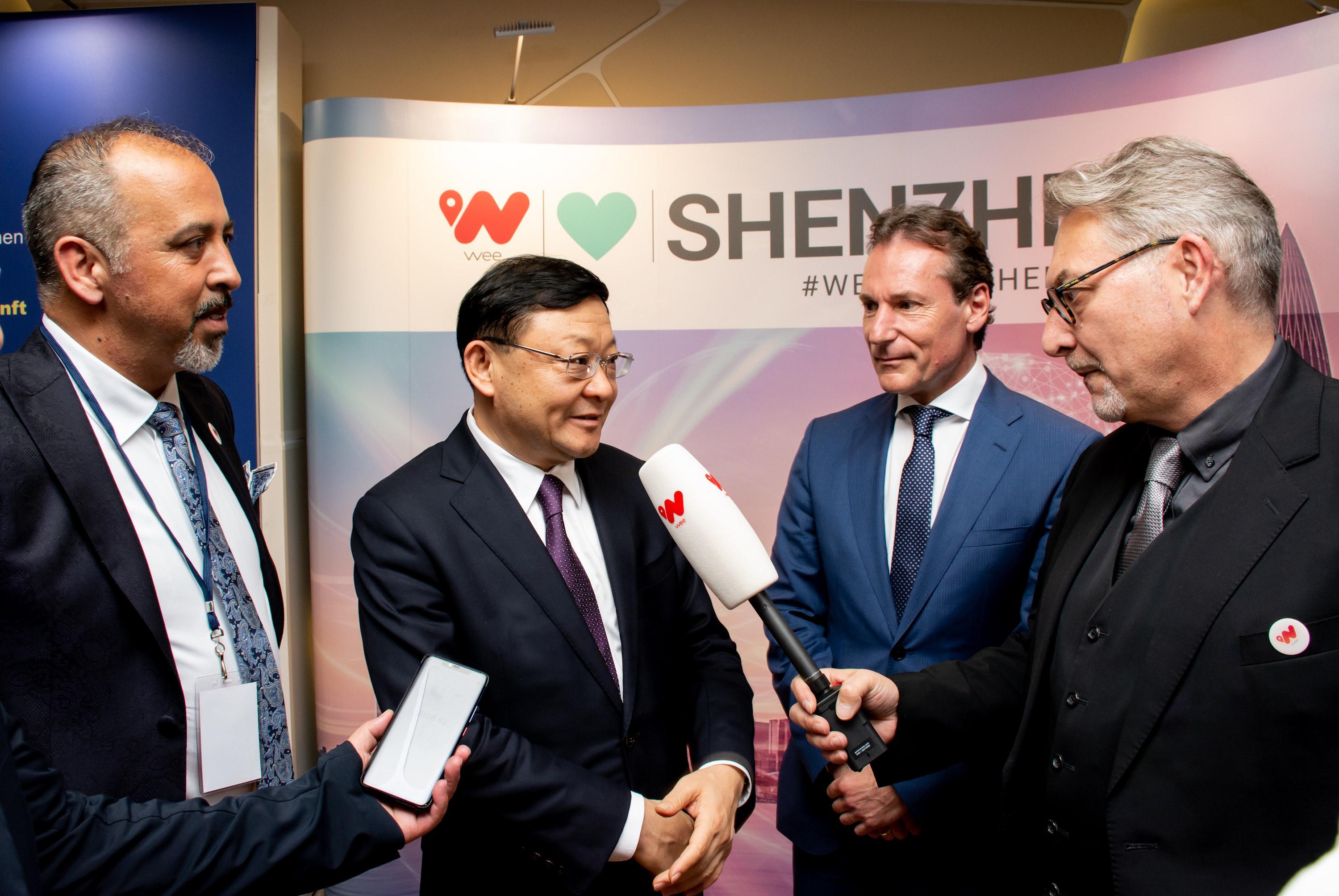 Unternehmer Ehliz positioniert seine globale Vision für Boomtown Shenzhen
