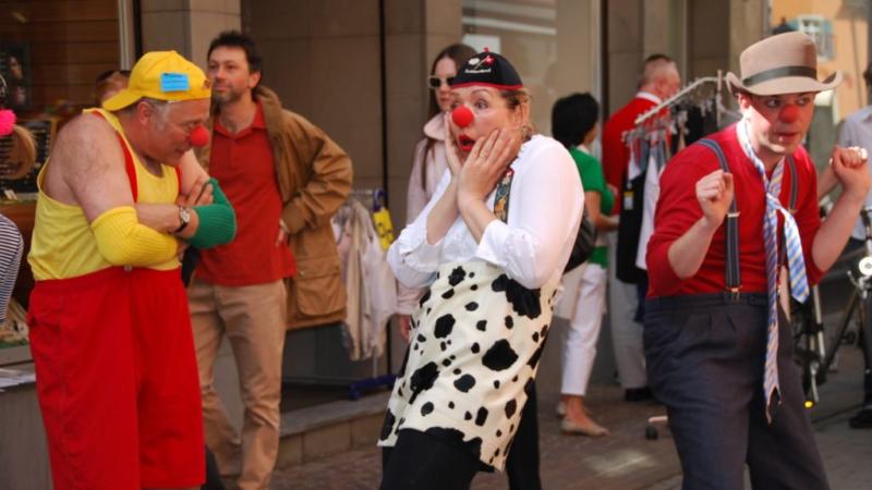 Internationale Sommerakademie Clown & Comedy in Konstanz