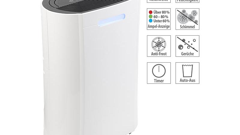 Sichler Haushaltsgeräte Luft-Entfeuchter LFT-410