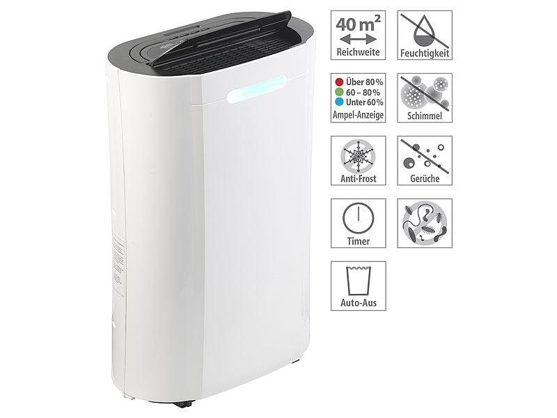 Sichler Haushaltsgeräte Luft-Entfeuchter LFT-420