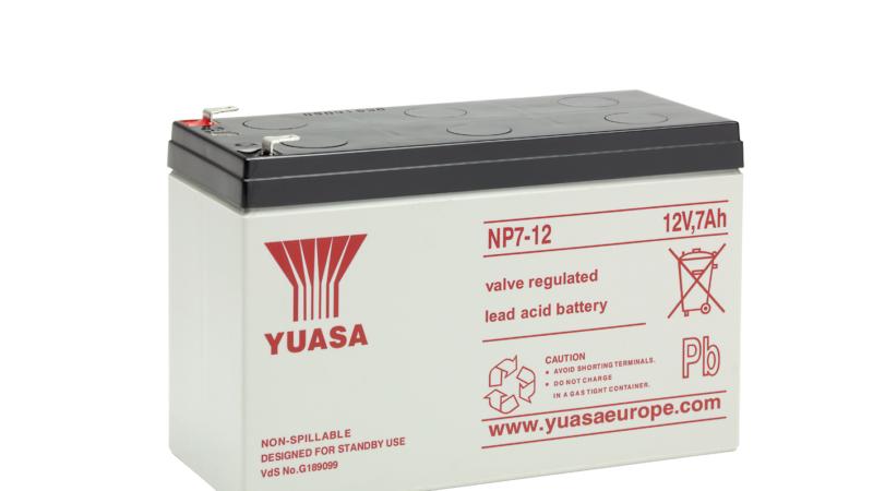 VDS-zertifizierte Batterien für Systeme der elektronischen Sicherheitstechnik