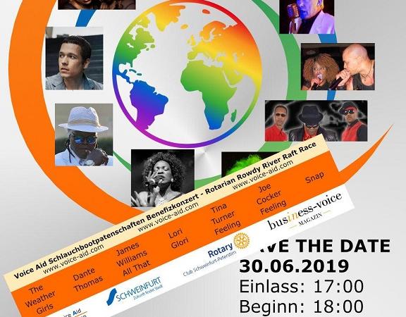 Benefizkonzert der Voice Aid Association e.V. hat Premiere in Schweinfurt