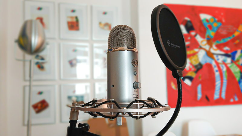 Blogcast hören, anstatt beim Lesen eindösen