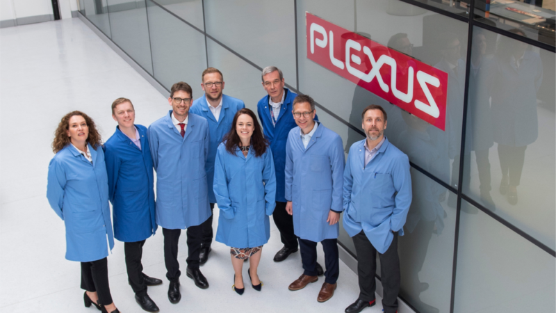 Plexus baut Fertigungsstandort in Schottland aus