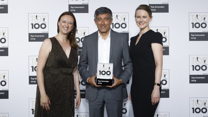 Auszeichnung: simpleshow gehört zu den TOP 100