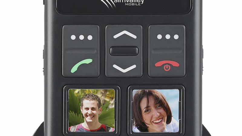 simvalley MOBILE Senioren-Handy RX-820.gps mit GPS-Ortung