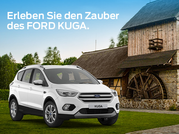 "Sommerliches Angebot: Ford Kuga mit ""Krabat-Bonus"""
